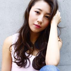 グラデーションカラー 外国人風 ストリート 大人かわいい ヘアスタイルや髪型の写真・画像
