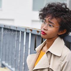 外国人風 パーマ ストリート スパイラルパーマ ヘアスタイルや髪型の写真・画像