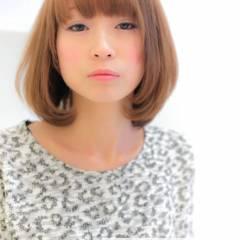 大人かわいい フェミニン ボブ 春 ヘアスタイルや髪型の写真・画像