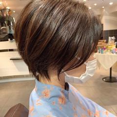 ショート エレガント 大人ショート ハンサムショート ヘアスタイルや髪型の写真・画像