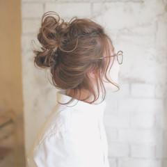 ショート ヘアアレンジ ボブ 夏 ヘアスタイルや髪型の写真・画像