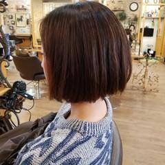 ボブ ワンレングス 艶髪 色気 ヘアスタイルや髪型の写真・画像