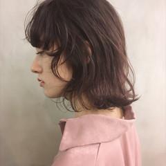 ウルフカット ボブ ヘアアレンジ 透明感 ヘアスタイルや髪型の写真・画像