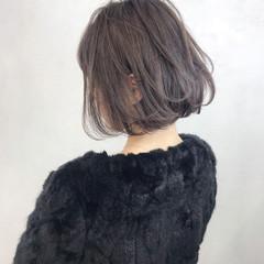 外国人風 ボブ 外国人風カラー 冬 ヘアスタイルや髪型の写真・画像