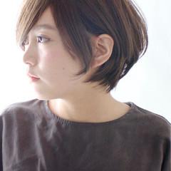 ショート ゆるふわ 大人かわいい ショートボブ ヘアスタイルや髪型の写真・画像