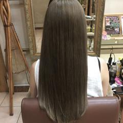 外国人風 ハイライト グラデーションカラー ガーリー ヘアスタイルや髪型の写真・画像