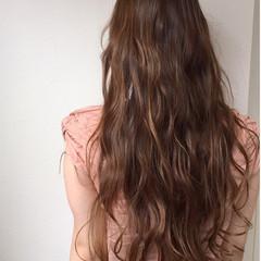 ハイライト フェミニン 外国人風 ゆるふわ ヘアスタイルや髪型の写真・画像