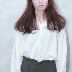ニュアンス デート フェミニン 外国人風 ヘアスタイルや髪型の写真・画像
