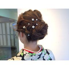 ゆるふわ 外国人風 成人式 大人かわいい ヘアスタイルや髪型の写真・画像