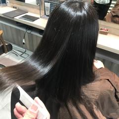 エレガント ロング 髪質改善トリートメント 美髪 ヘアスタイルや髪型の写真・画像