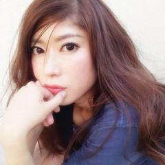 無造作 外国人風 ロング 大人かわいい ヘアスタイルや髪型の写真・画像