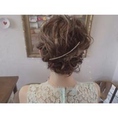 デート 夏 ヘアアレンジ グラデーションカラー ヘアスタイルや髪型の写真・画像