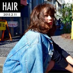ウェットヘア 愛され フェミニン モテ髪 ヘアスタイルや髪型の写真・画像
