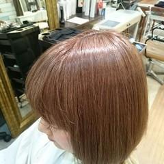 ストリート ベージュ ブリーチ ボブ ヘアスタイルや髪型の写真・画像