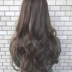 ロング ストリート モテ髪 大人かわいい ヘアスタイルや髪型の写真・画像