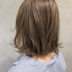ウェーブ ゆるふわ ストリート ボブ ヘアスタイルや髪型の写真・画像