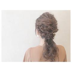 結婚式 ヘアアレンジ 女子会 デート ヘアスタイルや髪型の写真・画像