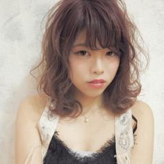 透明感 ミディアム 秋 外国人風 ヘアスタイルや髪型の写真・画像
