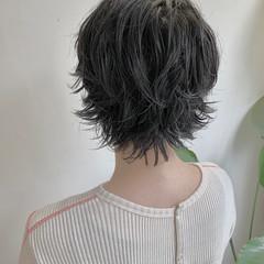 ショート ウルフカット フェミニン ベリーショート ヘアスタイルや髪型の写真・画像