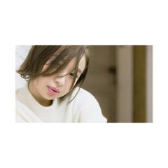 簡単ヘアアレンジ 暗髪 ショート ナチュラル ヘアスタイルや髪型の写真・画像