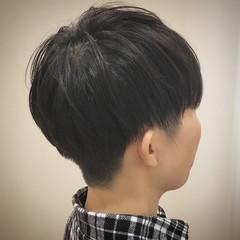 メンズカット マッシュショート メンズマッシュ ナチュラル ヘアスタイルや髪型の写真・画像