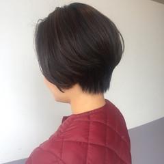 アンニュイほつれヘア ヘアアレンジ デート ショート ヘアスタイルや髪型の写真・画像