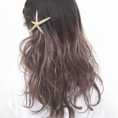 ロング 外国人風カラー セクシー ストリート ヘアスタイルや髪型の写真・画像