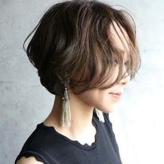 濡れ髪スタイル ナチュラル ヘアメイク ハンサムショート ヘアスタイルや髪型の写真・画像