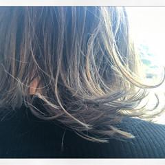 ミディアム ヘアアレンジ 外国人風 夏 ヘアスタイルや髪型の写真・画像