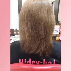 ローライト ハイトーン ロング ナチュラル ヘアスタイルや髪型の写真・画像