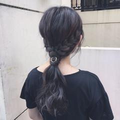 大人女子 ショート ハイライト 簡単ヘアアレンジ ヘアスタイルや髪型の写真・画像
