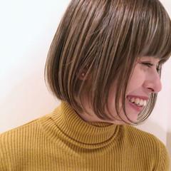 ミニボブ モード 小顔ヘア ボブ ヘアスタイルや髪型の写真・画像