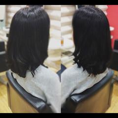 セミロング 髪質改善トリートメント ナチュラル 社会人の味方 ヘアスタイルや髪型の写真・画像