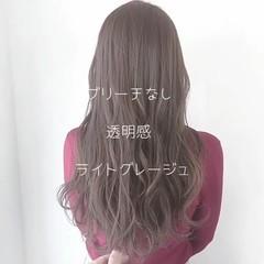 外国人風 愛され 透明感 ロング ヘアスタイルや髪型の写真・画像