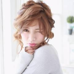 ガーリー モテ髪 ストリート フェミニン ヘアスタイルや髪型の写真・画像