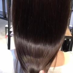秋冬スタイル ツヤ髪 セミロング oggiotto ヘアスタイルや髪型の写真・画像
