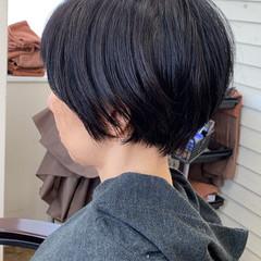 小顔ショート ショート ショートヘア ミニボブ ヘアスタイルや髪型の写真・画像