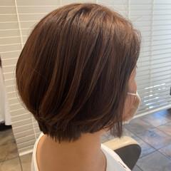 ショートボブ ミニボブ ボブ ベリーショート ヘアスタイルや髪型の写真・画像