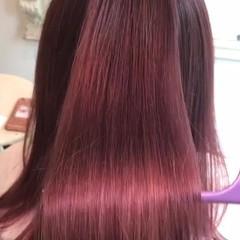 セミロング 透明感 モード 秋 ヘアスタイルや髪型の写真・画像