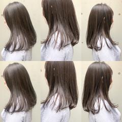 ロング 暗髪女子 透け感ヘア 暗髪 ヘアスタイルや髪型の写真・画像