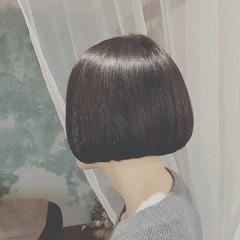 黒髪 冬 オフィス ナチュラル ヘアスタイルや髪型の写真・画像