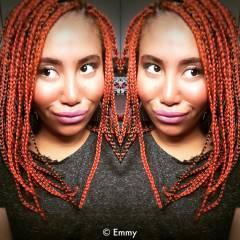モード 個性的 ボブ ヘアアレンジ ヘアスタイルや髪型の写真・画像