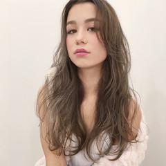 アッシュ ストリート ハイライト 外国人風カラー ヘアスタイルや髪型の写真・画像