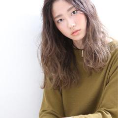 女子会 リラックス ロング 抜け感 ヘアスタイルや髪型の写真・画像