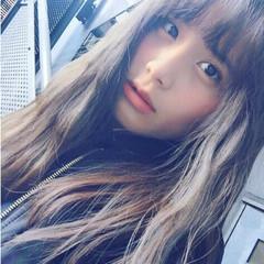 簡単ヘアアレンジ 小顔 フェミニン セミロング ヘアスタイルや髪型の写真・画像