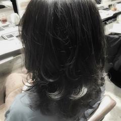 ストリート ハイライト アッシュ 色気 ヘアスタイルや髪型の写真・画像
