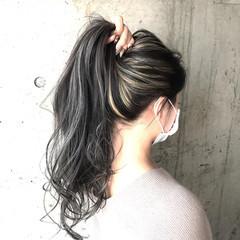 ロング ブリーチ ブリーチカラー 派手髪 ヘアスタイルや髪型の写真・画像