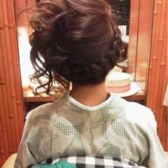 成人式 ヘアアレンジ ロング 着物 ヘアスタイルや髪型の写真・画像