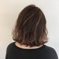 ボブ かわいい ピンク 秋 ヘアスタイルや髪型の写真・画像