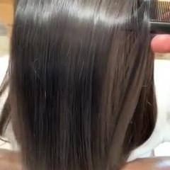 髪質改善トリートメント フェミニン トリートメント 髪質改善 ヘアスタイルや髪型の写真・画像